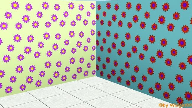 Blumen 1 – Sims 3 Muster