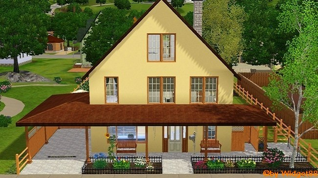 Das Balkonhaus – Sims 3