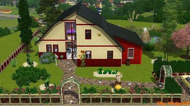 Das Haus am Teich – Sims 3