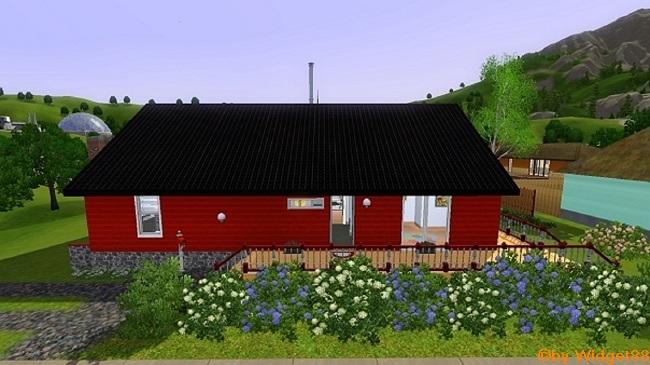 Det Danske Hus – Sims 3