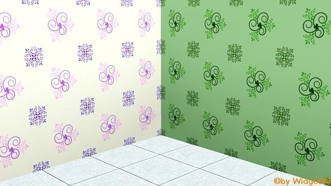 Florales Ornament 2 – Sims 3