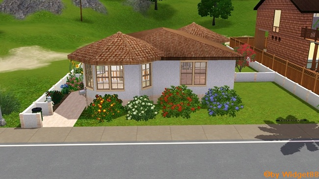 Haus Arancione – Sims 3