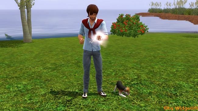 Jarvis Ferreira und Timmy – Sims 3