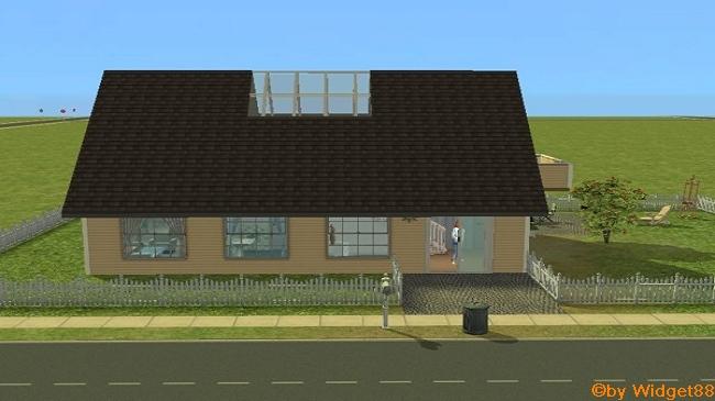 Kleines Holzhaus – Sims 2