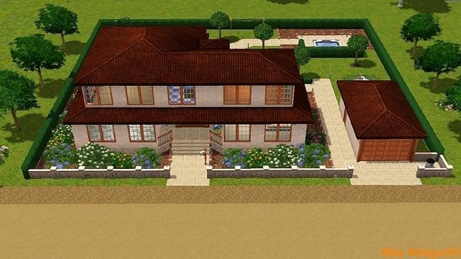 Mediterranes Haus – Sims 3