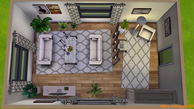 Modern cozy Livingroom
