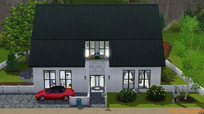 """Villa """"Bergblick"""" – Sims 3"""