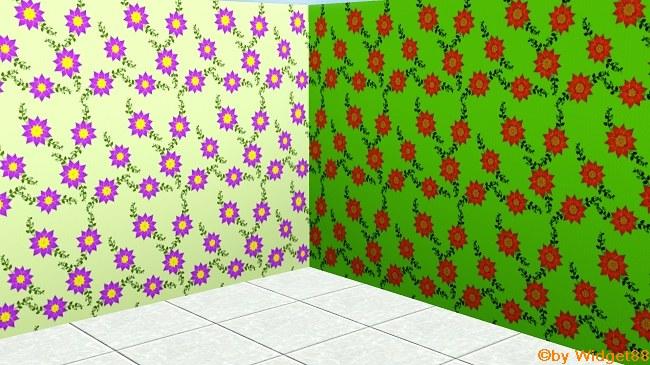 Blumen 2 – Muster Sims 3