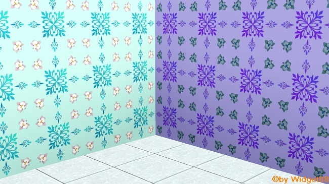 Florales Ornament 3 – Sims 3