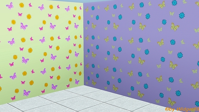 Schmetterlinge – Muster Sims 3