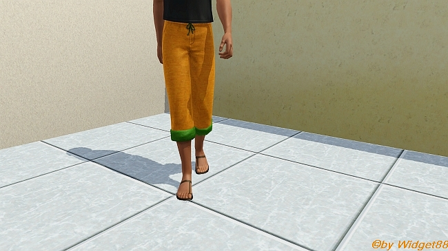 Orange Krempelhose – Sims 3