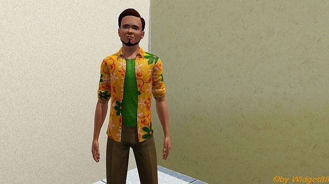 Palmenhemd – Kleidung Sims 3