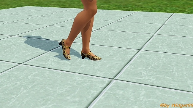 Leo-Pumps – Kleidung Sims 3