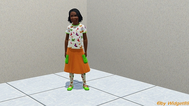 Pennys Ausgeh-Outfit – Kleidung Sims 3
