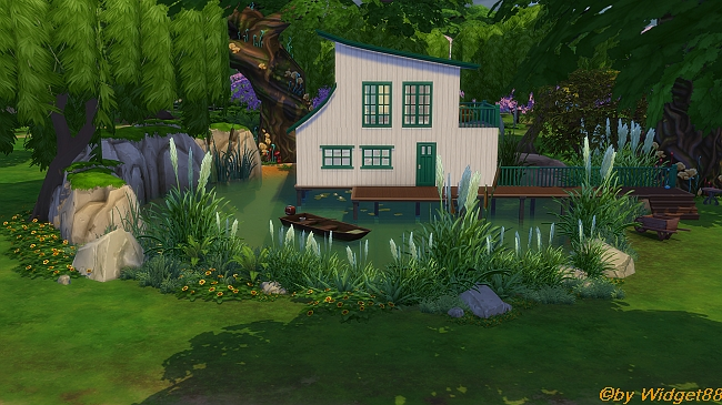 Sumpf Haus Challenge – Communityprojekt von SimFans