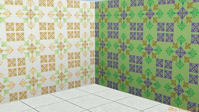 Florales Ornament 4 – Sims 3
