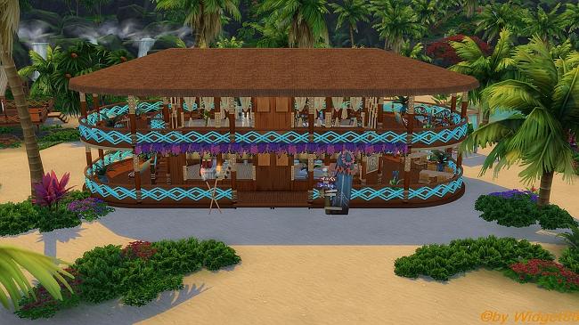 Barco de praia