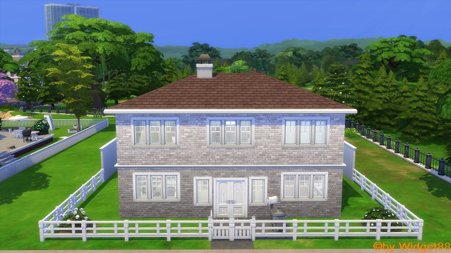 White domicile